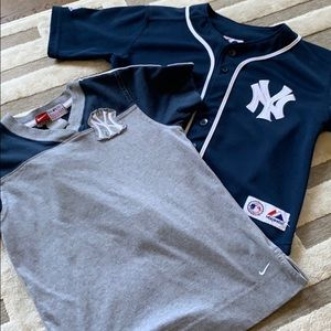 Two New York Yankees Shirts